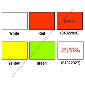 labels for avery dennison 216 labeler red dunwoody booth