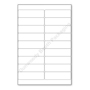 Label Sheets for Laser or Inkjet Printers
