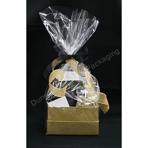 "Cellophane Basket Bags - Clear - 24""x30"""