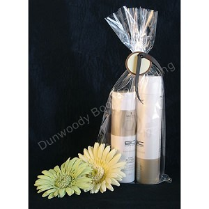 "Flat Cellophane and Mug Bags - Clear - 7""x15"""