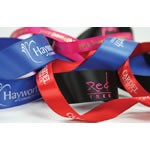 Custom Printed Single Face Satin Ribbon