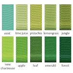 Grosgrain Ribbon - 1-1/2in. x 50 yds. - Shades of Green