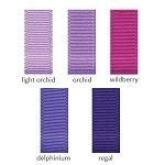 Grosgrain Ribbon - 1-1/2in. x 50 yds. - Shades of Purple