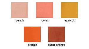 Colored Tissue- Shades of Orange/Yellow