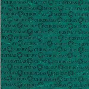 "24""x833ft Roll - 0082 Special Green Xmas Foil Gift Wrap"