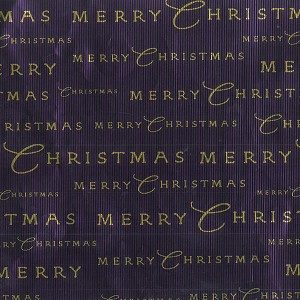 "24""x400ft Roll - 0216 Merry Christmas Gift Wrap"