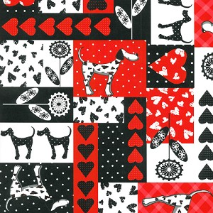 "24""x400ft Roll - 0251 Dalmation Delight Gift Wrap"