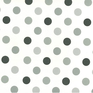 "24""x833ft Roll - 0264 Multi Colored Dots Gift Wrap"