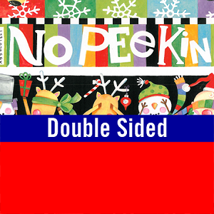 "24""x400ft Roll - 6238 No Peekin Gift Wrap  (reversible)"