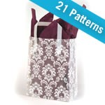 Premium Patterned Frosted Shoppers - 8