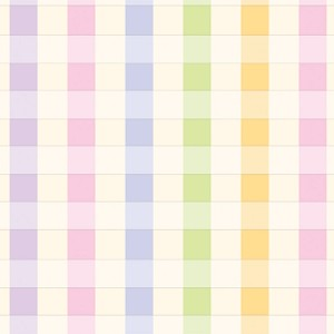 "24""x200ft Roll - 5320 Pastel Plaid Gift Wrap"