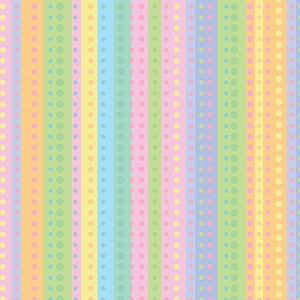 "24""x200ft Roll - 5472 Dotty Stripe Gift Wrap"