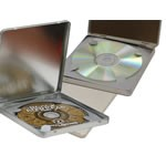 Hinged CD Tin Boxes - 5-1/4