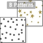 Cellophane Rolls - B Patterns - 40