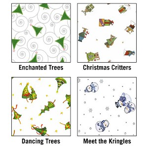 Cellophane Rolls - Holiday Patterns