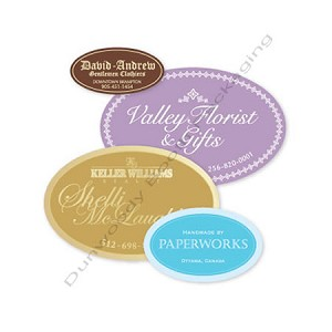 Custom Printed Foil Hot Stamped Labels