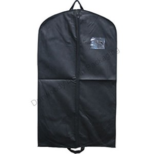 "42"" Black Fabtex Zipper Suit Bags"