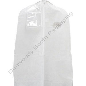 "70"" White Fabtex Zipper Suit Bags"