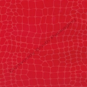 "24""x833ft Roll - 6295 Red Croc Gift Wrap"