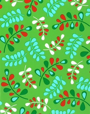 "24""x200ft Roll - 6303 Christmas Kiss Gift Wrap"