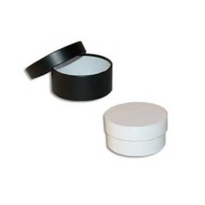 "Extra Large Round Rigid Boxes 9"" diam. x 4""h"