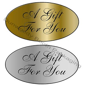 """A Gift for You"" Labels"