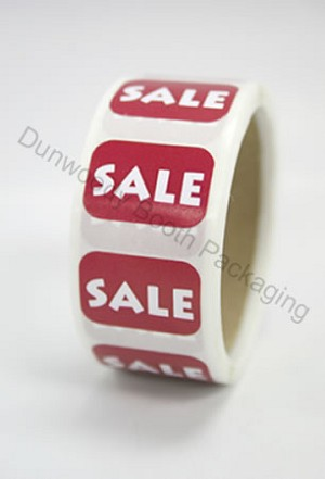 "Rectangular Sale Lables - 3/4""x1/2"""
