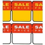 Small Self Adhesive Sale Lables