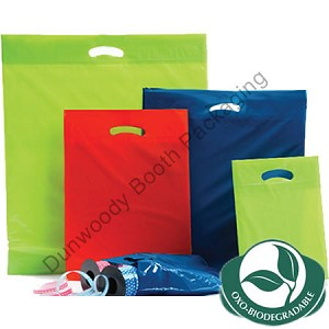 Oxo Biodegradable Poly Bags - A Colours - Medium