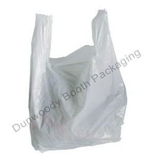 "High Density Economy T-Shirt Bag - 9""x5""x17"""