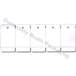 "White Perforated Tags - 2-1/4""x1-1/4"""
