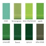 Grosgrain Ribbon - 1/4in. x 100 yds. - Shades of Green