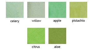 Colored Tissue- Shades of Green